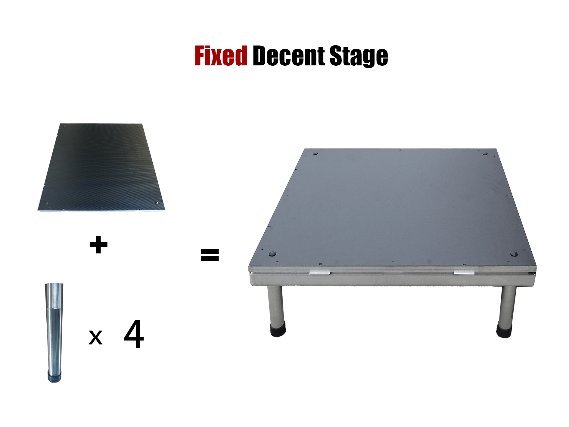 Fixed decent stage