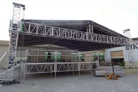 RK assembly step aluminem stage event design