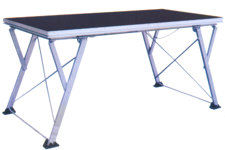 RK Portable Aluminum Folding Deck assemble stage