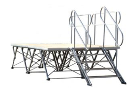 Aluminum Strong Protable folding Events Stage