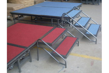 Patent event folding stage equipment for promotional sale