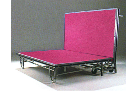 Promotional folding stage for party events
