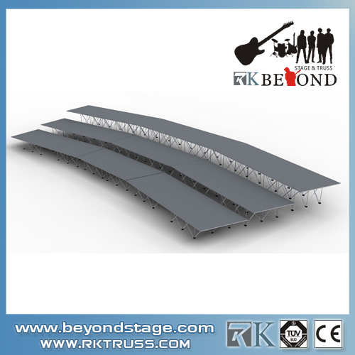 Experienced portable stage manufacturer in China