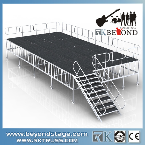 Outdoor Aluminum Portable Stage for events