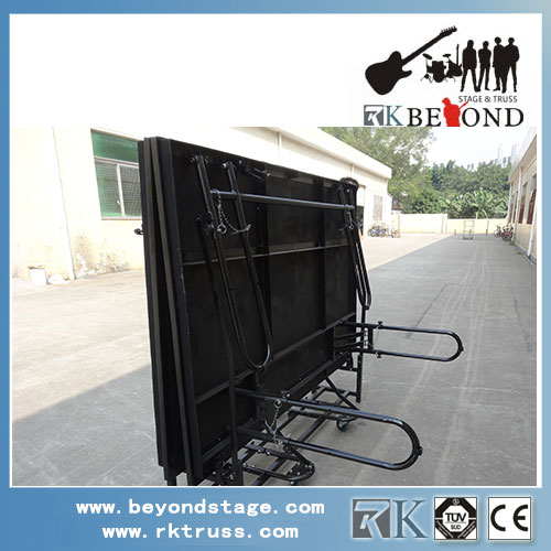 Simple folding mobile stage wholesale from China