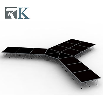 RK Portable Stage Perfect for Using in Fasion Shows