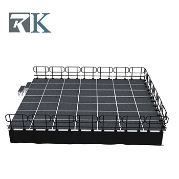 Portable Smart stage system for outdoor event wholeasle