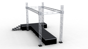 Steel Spigot Truss Displays For Stage Events