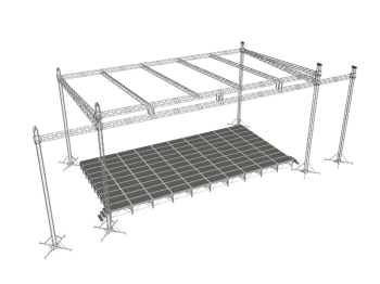 High Quality Spigot Square Lighting Truss