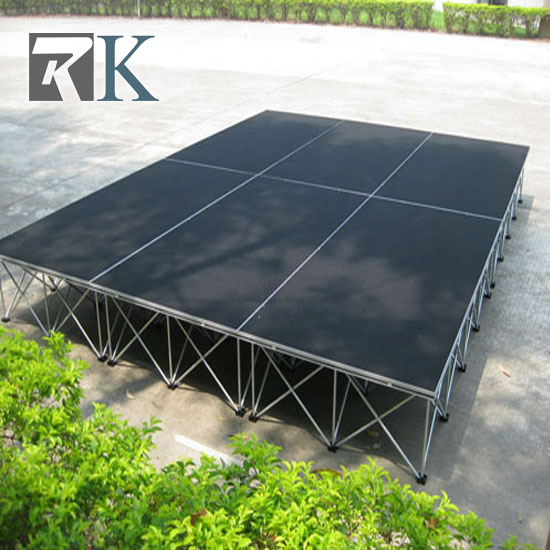 Complete 3m×4m Smart Stage System with Stair