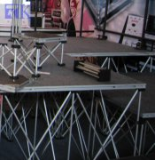 RK stage equipment includ portable stage stairs is design for different uses
