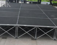 Nowadays portable stage has taken the world by storm