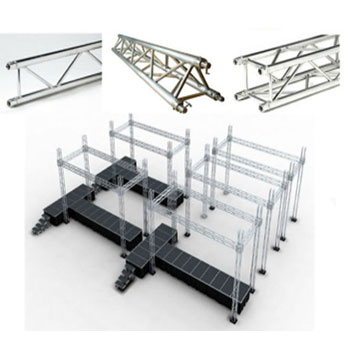RK spigot stage lighting truss systems