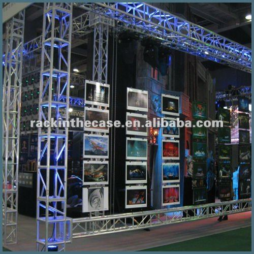 RK aluminum exhibition truss price truss systems