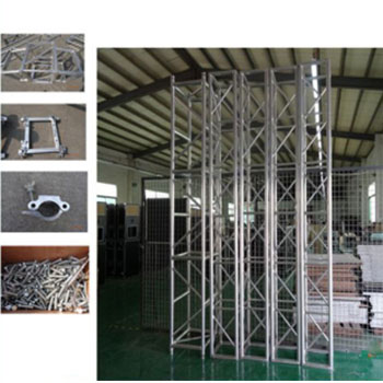 Steel portable stage spigot truss for sale