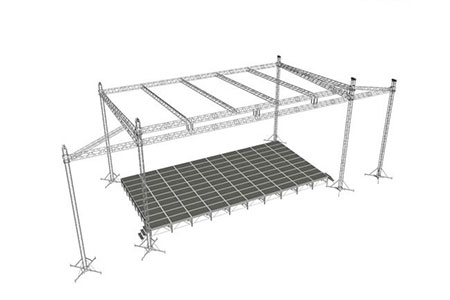 Roof stage truss systems scaffolding truss triangle truss