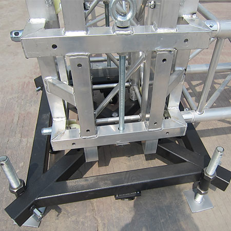 2014 Aluminum stage roof spigot truss systems