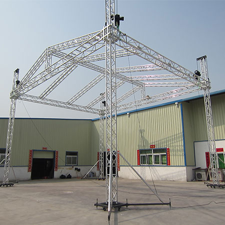 Beyond concert stage aluminum lift truss system