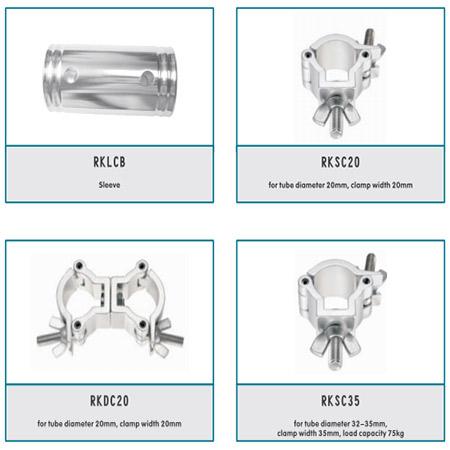 Aluminum Spigot Accessories For Stage Truss