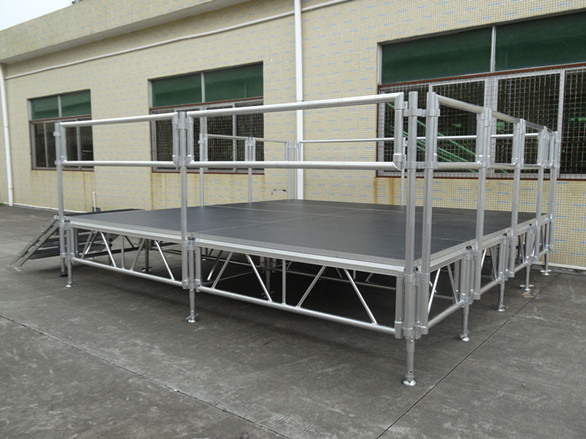 Used aluminum portable stage from China