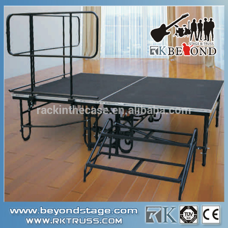 Movable Portable Stage Folding Stage Uesd for sale
