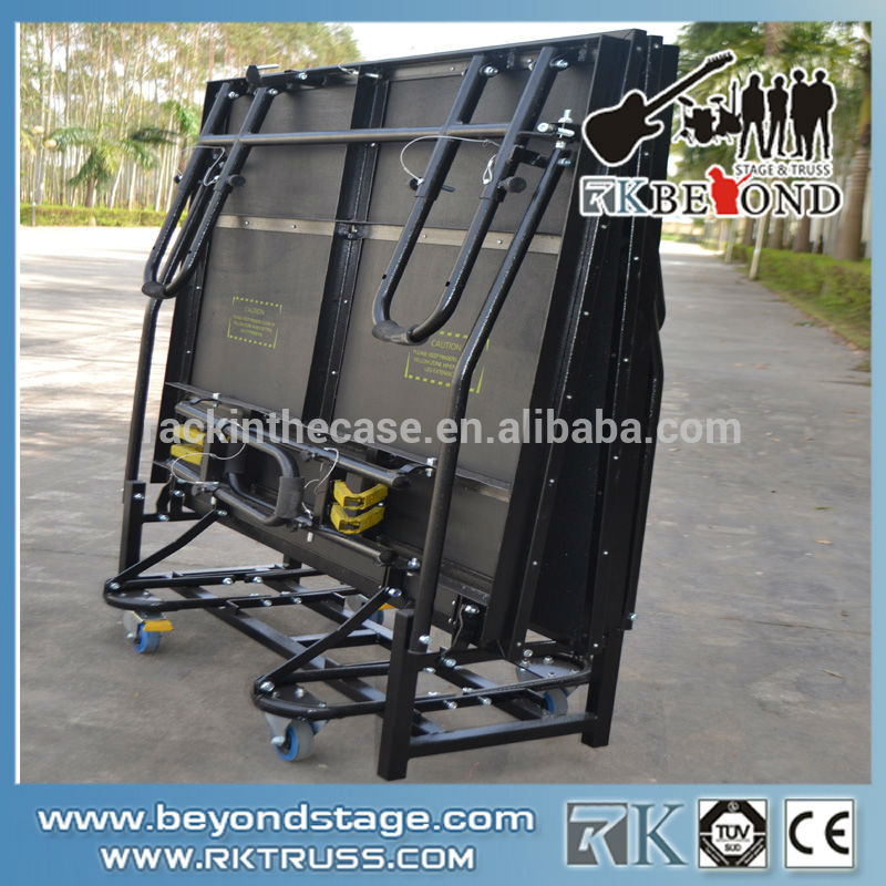 Used aluminum portable  folding stage from China