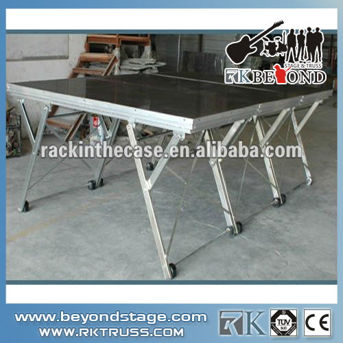 Used Folding Portable Stage System For Sale
