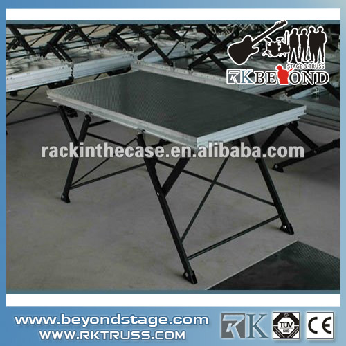 Used aluminum folding stage system for wholesale