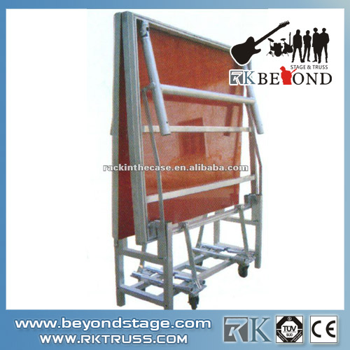 Used aluminum folding portable stage from China