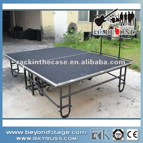 Cheap used folding portable stage system from China
