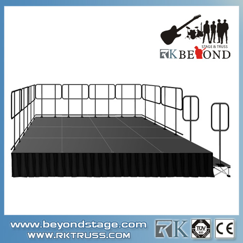 Portable Smart stage system rental for outdoor event wholeasle