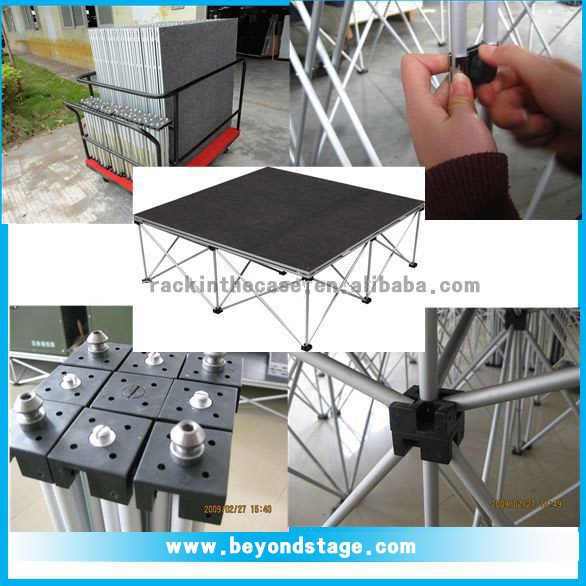 14 years experienced stage equipments manufacturer
