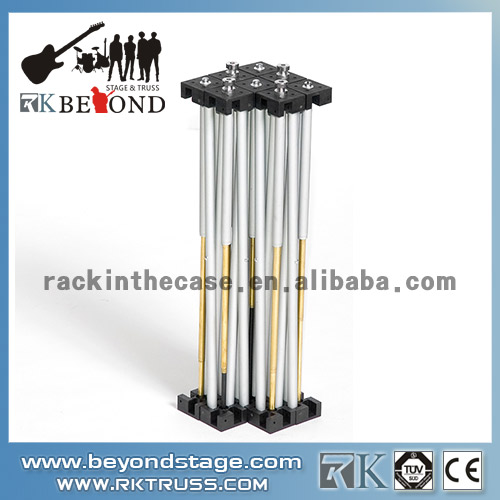 Outdoor concert aluminum stage riser for sale