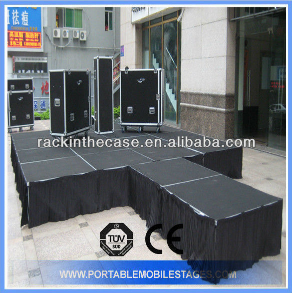 Stage skirt for stage events wholesale