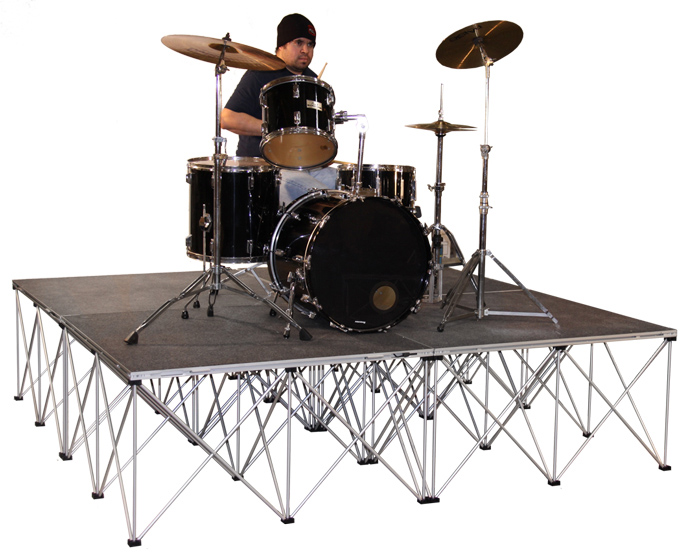 Portable stage for band shows supplier from China