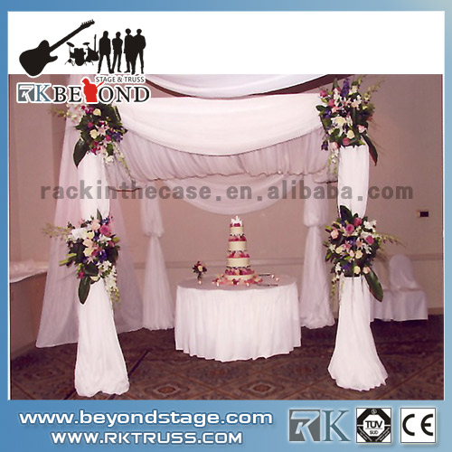 Portable wedding stage backdrop
