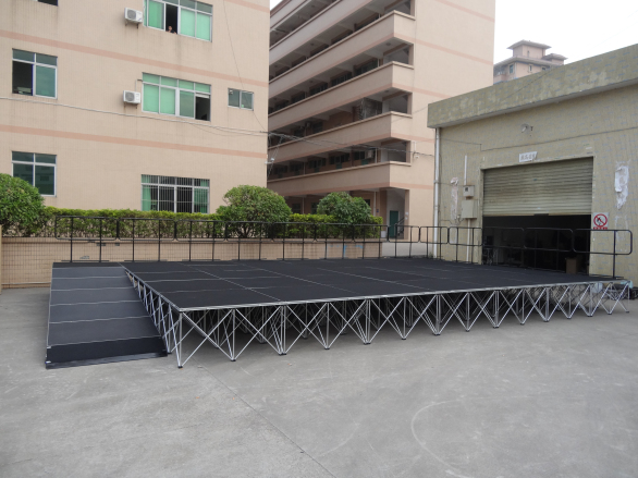 14 years experienced portable stage manufacturer