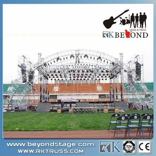 Aluminum truss displays