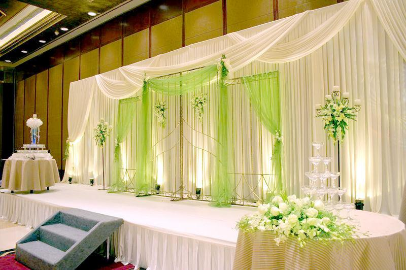 Wedding portable stage design
