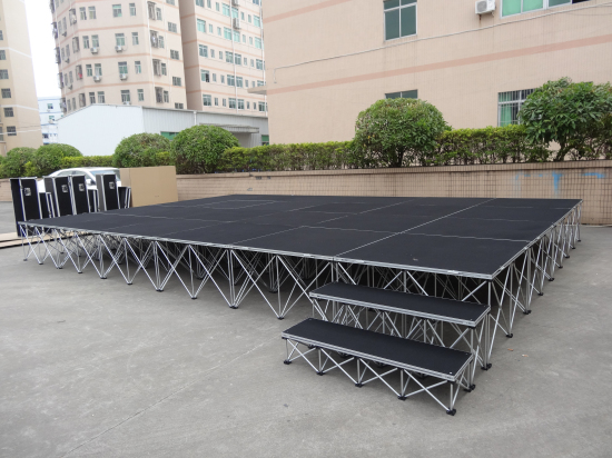 Portable stage design for wedding stage