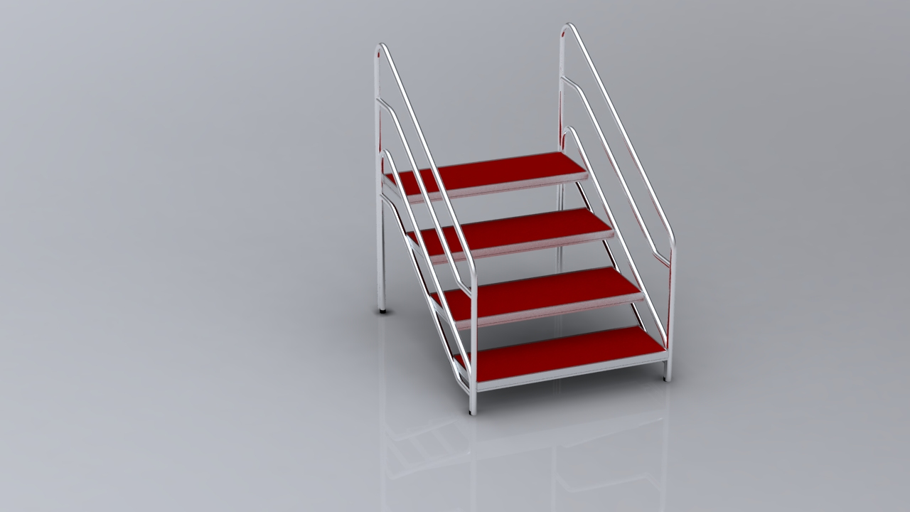 Stage steps for stage system wholesale