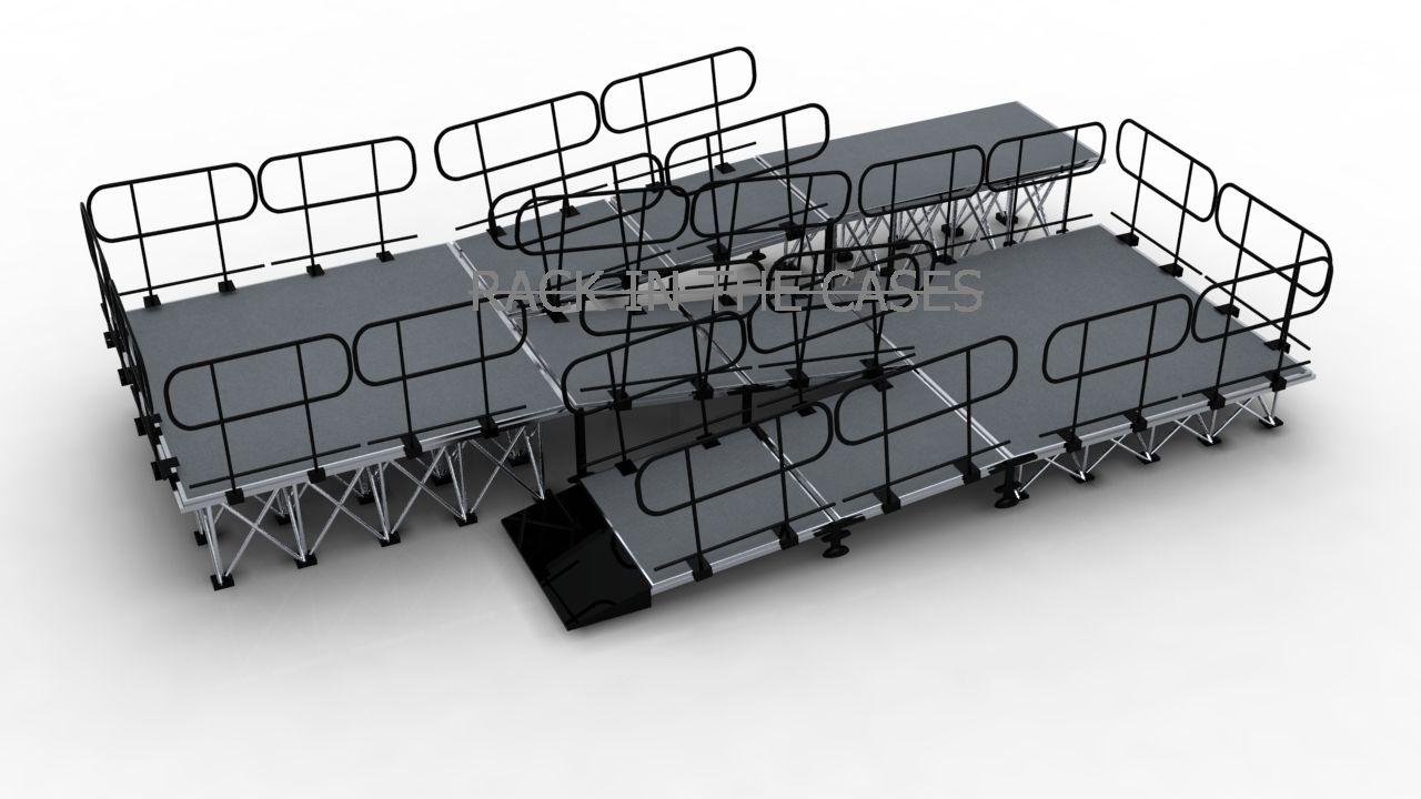 portable stage ramps