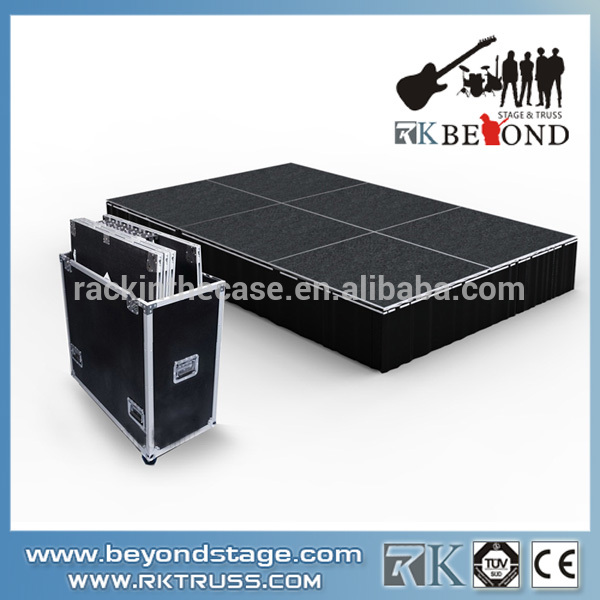 2014 Popular Portable Stage and Aluminum Trailer for Sale