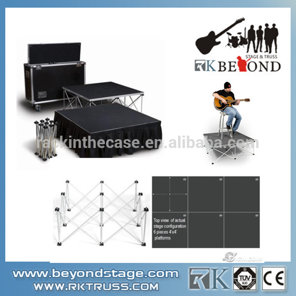 Mobile stage trailer | Portable stage trailer | Mobile stage