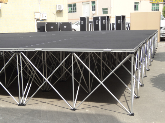 Build a portable stage platform and riser wholesale