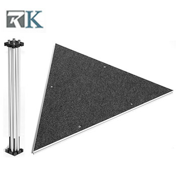4'*4'*4' Triangle Shape Stage Riser-RK