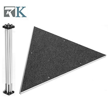 1*1*1m Triangle Shape Stage Riser-RK
