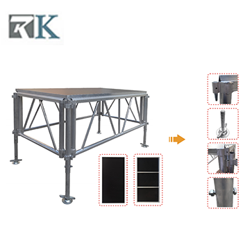 aluminum stage accessories