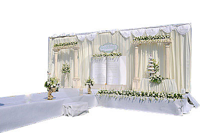 How to design a wedding stage