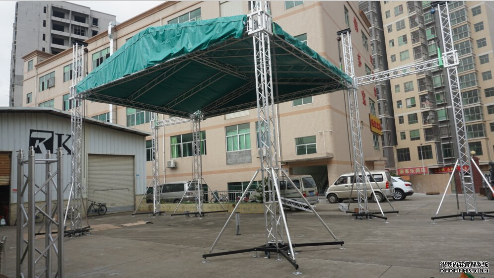 We have different kinds of truss avaiable.And they are applicable for concert outdoor indoor eventsperformancetrade showdisplayexhibitionetc. & RK Stage Roof Canopy Truss Project